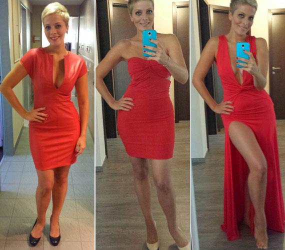 Divattervezőként nemsokára bemutatja az új, Foxy Ladies nevet viselő kollekcióját, melyben úgy tűnik, a piros szín dominál.