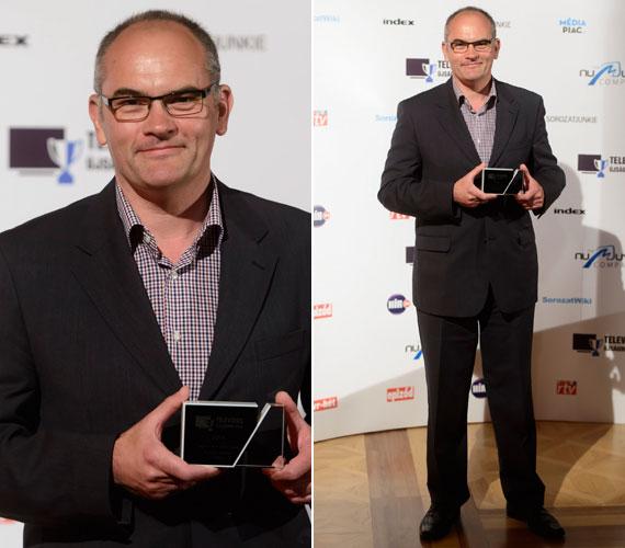 Gundel Takács Gábor, az MTVA műsorvezetője idén másodszorra lett a legjobb férfi műsorvezető. Sebestyén Balázs és Till Attila elől happolta el az elismerést.