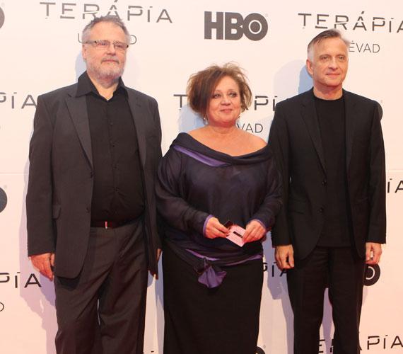 A Terápia második évadának új szereplője Máté Gábor Csákányi Eszterrel és Mácsai Pállal.