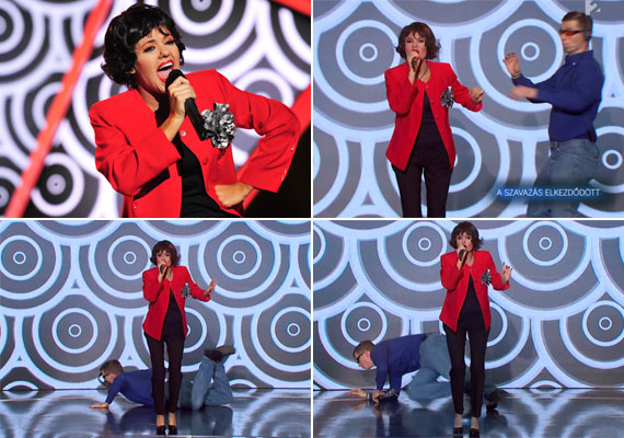 Amikor Csobot Adél a Sztárban sztár október 18-i adásában Mary Zsuzsi bőrébe bújva énekelte el a Mama című számot, a show-t ellopta tőle valaki. A részletekért kattints ide »
