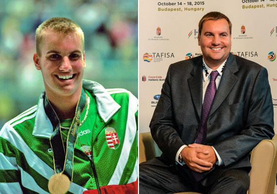 Czene Attila a '90-es évek egyik legismertebb magyar úszója volt, 1992-ben Barcelonában bronz-, 1996-ban Atlantában aranyérmet szerzett. Felismered friss fotóján?