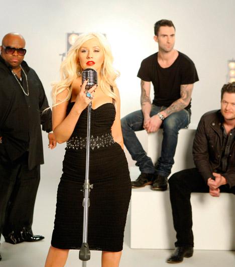 The Voice az USA-ban  A 2011 tavaszán indult amerikai Voice felkészítői: a Maroon 5 szívtipró énekese, Adam Levine, a rapper Cee Lo Green, az aranytorkú Christina Aguilera és a country-zenész, Blake Shelton. Már lezajlott két széria, a harmadik pedig 2012-2013-ban kerül műsorra.