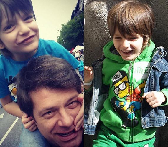 Félix nagyon jóban van édesapjával, igazi cinkostársak.