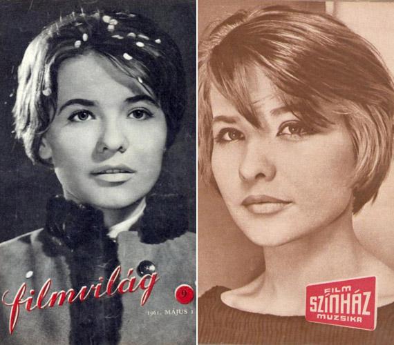 1961 májusában az Ígéret földje című filmmel a Filmvilág, 1960 decemberében a Film-Színház-Muzsika címlapján.