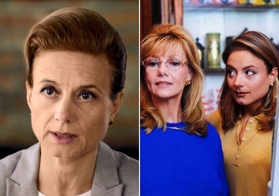 Tóth Auguszta az RTL Klub Válótársak című sorozatában mint válóperes szakember, illetve a Kisváros című sorozatban Komlósi Mariként sorozatbeli édesanyjával.