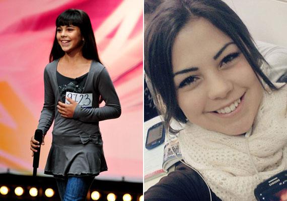 Tóth Lüszi 13 éves volt, amikor jelentkezett a Megasztár című műsorba. A jobb oldali fotó tanúsítja, az évek alatt elképesztően szép, 21 éves hölgy lett belőle.