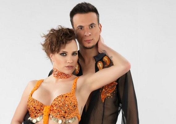 A focista után Markó Robi következett. A Szombati Esti Láz című táncos műsorban jöttek össze, ahol az énekesnő táncpartnere volt. A kapcsolat egy évig tartott, majd a táncos 2004-ben szakított Gabival. Ezt az énekesnő nagyon nehezen élte meg, sokáig képtelen volt feldolgozni a férfi elvesztését.