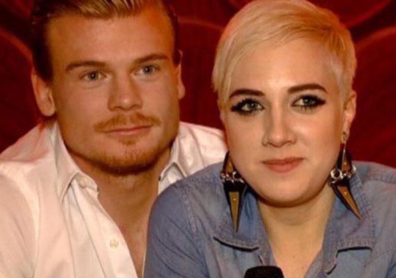 2012-ben következett a focista, Rasztovics Dávid. Ő és az énekesnő egy évig éltek együtt. Az élsportolónak Gabi volt az első komoly kapcsolata.