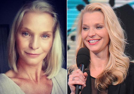 """""""Ezer éve nem volt ilyen rövid hajam"""" - írta a bal oldali fotója mellé Lilu. Az RTL Klub műsorvezetője július végén vált meg hosszú fürtjeitől."""
