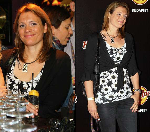 Olimpiai bajnok úszónőnk, a fiatal anyuka, Kovács Ági mostanában ritkán jelenik meg partikon, ám ezúttal kivételt tett.