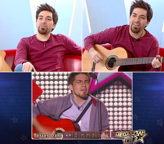 A ma már 32 éves ecuadori-magyar énekes, Torres Dani az évek során csak sármosabb lett, és még mindig elválaszthatatlan tőle a gitárja.