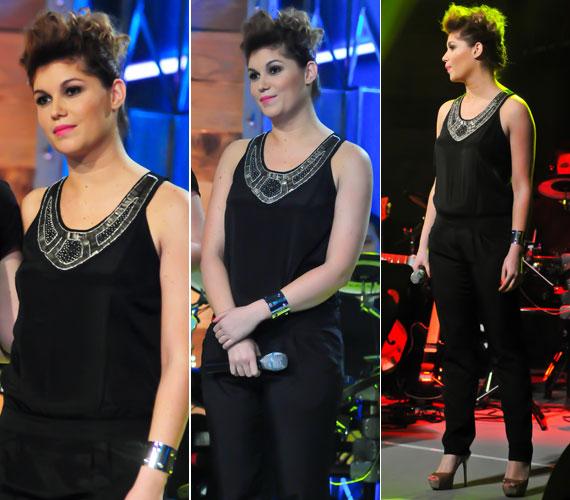 Veres Mónika, vagyis Nika, a Voice-szal ismét felfedezett énekesnő is sokat fogyott a TV2 tehetségkutatója óta.