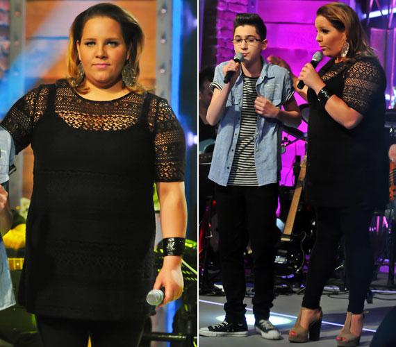 Az énekesnő ezúttal nem tipikus diétát tart, igazából mindent megeszik, csak megpróbálja csökkenteni a bevitt szénhidrát mennyiségét.