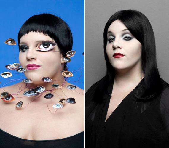 A mosolygós, 27 éves énekesnő először Beth Ditto bőrébe bújt, amihez első lépésként egy mélyen dekoltált trikót kellett felvennie. Ezután az Addams Family egyik szereplőjét utánozta.