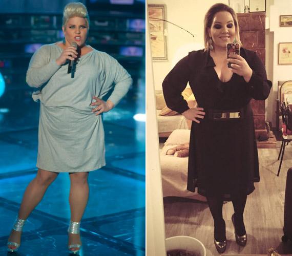 Az énekesnő október elején jelentette be, hogy fél év alatt 30 kilót kíván fogyni. Egy hónap alatt, október végére már látványos változást ért el. Párja a fogyás előtti és utáni Verát is imádja.
