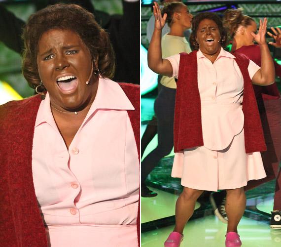 Az ötödik adásban Aretha Franklinként is zseniális volt, a Think című számot előadva szintén a lehető legtöbb, 40 pontot zsebelte be.