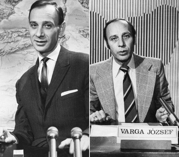 Varga József (1929-1981) újságírói végzettséggel rendelkezett, kellemes orgánuma miatt először a Magyar Rádiónál dolgozott, majd onnan került a televízióhoz, ahol nemcsak bemondó, de hírolvasó is lett. Később a Híradó munkatársaként belpolitikai kommentátorként ténykedett, de a Parabola című szatirikus műsorban is felbukkant. Mindemellett pedig több alkalommal vezette le a Táncdalfesztivált és szilveszteri műsorokat. Munka közben lett rosszul, végül szívinfarktusban halt meg 51 évesen.