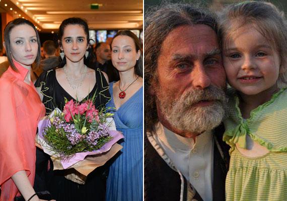 Az április 8-án, 53 évesen elhunyt színész, Bicskey Lukács három lányt hagyott maga után. A 30 éves Lili táncművész, a 28 éves Zsófia színésznő. Az ötéves Míra a Pethő Kincső színésznővel - bal oldali képen középen - kötött második házasságából született.