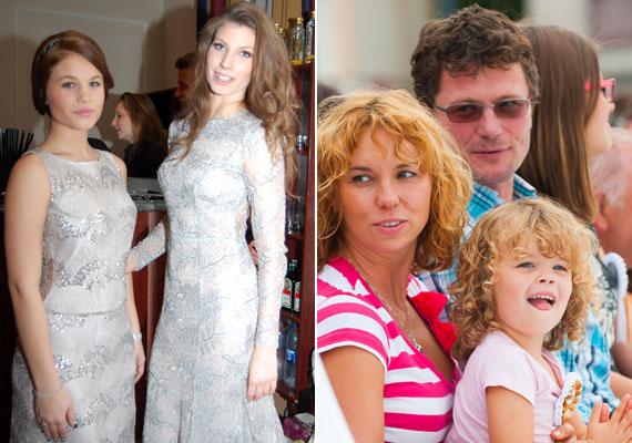 A 48 éves Stohl Andrásnak első házasságából két lánya született, a 22 éves, táncművész Luca és a 18 éves Rebeka, akik idén elkísérték a Story-gálára. A színész párjával, Ancsikával egy hat és fél éves kislányt, Franciskát - jobb oldali fotó - és egy 11 hónapos kisfiút, András Barnabást nevel.