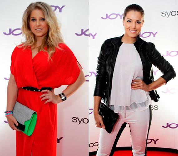 A TV2 Jóban Rosszban című sorozatának színésznője, Szabó Zsófi fogyókúrája szemmel láthatóan sikeres, de Szunai Linda volt szépségkirálynő is remek formában van.