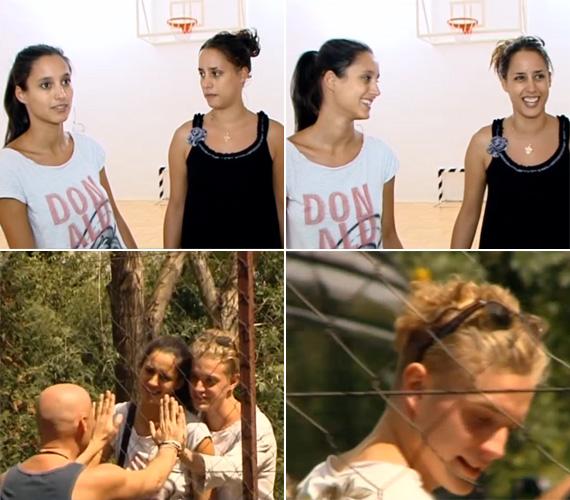Trokán Nóra és Anna utoljára bő tíz éve, a gimnáziumi kosárlabdacsapatban játszottak együtt, akkor állítólag verhetetlenek voltak. A TV2 Aktív című műsorának stábja azt is megörökítette, hogy a fiatalabbik színésznő egy szőke fiatalemberrel távozott.