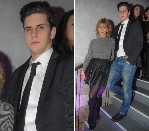 Schell Judit nagyfia, Lackó már 21 éves. A színésznőnek még egy fia van, Boldizsár, akit 2008-ban hozott világra.