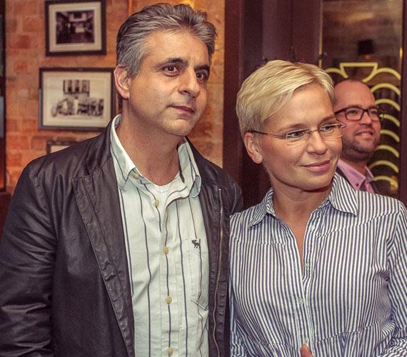 A két műsorvezető, Máté Kriszta és Bárdos András 2001-ben házasodtak össze. Házasságuk botrányoktól mentes, két közös gyermekük született, Ádám és Anna. Ritkán látni őket partizni, ez azon kivételes alkalmak egyike volt.