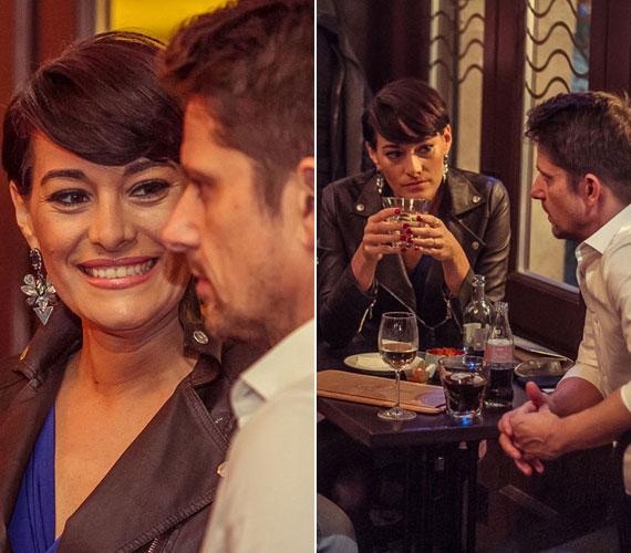 Görög Zita, az RTL Klub műsorvezetője sugárzik a boldogságtól - nem is csoda, hiszen szerelme, Koltay Tamás kommunikációs szakember október elején jegyezte el.