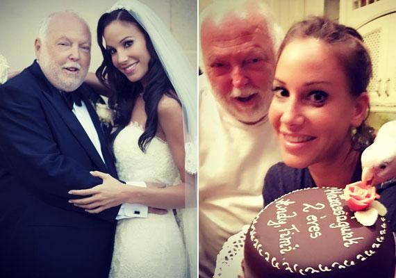 Andy Vajna és akkor még Palácsik Tímea 2013. augusztus 18-án - magyar idő szerint 19-én - házasodott össze Antonio Banderas amerikai birtokán. Tavaly ünnepelték a második házassági évfordulójukat.