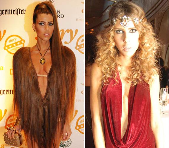 Cinthya Dictator a Story-gálán borzolta a kedélyeket egy valódi emberi hajból készült öltözettel, ami éppen hogy takarta a melleit és a fenekét. A Glamour-gálán már egy földig érő bársonyestélyiben jelent meg, de azért az szó szerint a köldökéig kivágott volt.