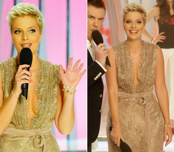 Tatár Csilla a TV2 2013-as A Szépségkirálynő című műsorában kivételesen a Dalaarna szalon egy nagyon merész estélyi ruhájában állt színpadra.