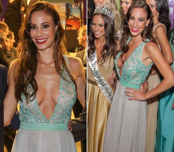 2015 júniusában, a Miss Universe Hungary háziasszonyaként már nyoma sem volt a három évvel korábban mutatott visszafogottságnak, a köldökig kivágott Zoób Kati estélyiben sokak szerint túl sokat mutatott magából.