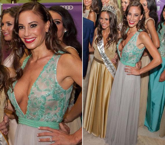 Vajna Tímea 2015-ben viselt legemlékezetesebb ruhája ez a Zoób Kati által tervezett estélyi volt, melyet a Miss Universe Hungary júniusi döntőjében viselt. Ugyan ő volt a szépségkirálynő-választás háziasszonya, sokak szerint nem kellett volna ilyen merész kreációba bújnia, mert ezzel elterelte a figyelmet a versenyzőkről.