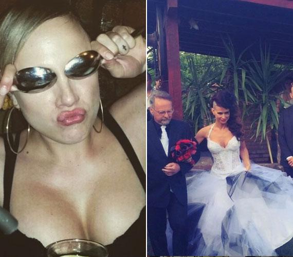 Tóth Gabi zongoristája június közepén mondta ki az igent . Az esküvőn az énekesnő ugyan nem öltözött szebb ruhába, mint a menyasszony, fehéret sem viselt, az Instagram-oldalára feltöltött fotó alapján mégis sikerült elvonnia a figyelmet az aráról.