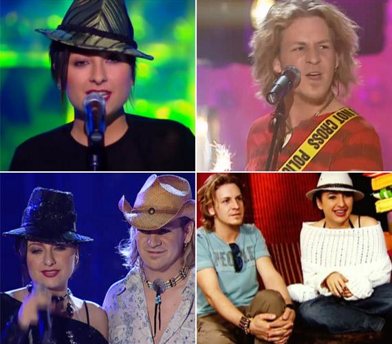 A vadóc külsejű kalapos lány és a rocker énekes sokak kedvence volt, a karakteres versenyzőket nem volt nehéz az emlékezetünkbe vésnünk.