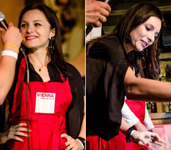 Az újrafogalmazott bécsi klasszikusok megalkotásában néhány hazai sztár is közreműködött: Zséda és Radics Gigi a sztárséf instrukciói szerint készítették el a tradicionális bécsi szeletet.