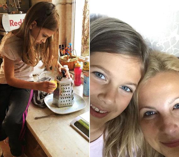 Bochkor Nóri áprilisban ünnepli a kilencedik születésnapját, már nagylány, aki karácsonykor a bejglikészítésben is segédkezett az édesanyjának.