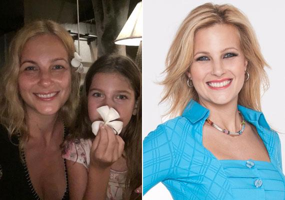 Várkonyi Andrea smink nélkül és kócos hajjal - a TV2 híradósát a képernyőről nem így ismerjük, de pironkodnia nem kell, így is nagyon bájos, emellett festetlenül még fiatalabbnak néz ki, mint kisminkelve.