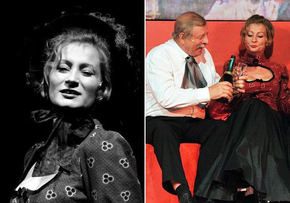 A 35 éves színésznő Várkonyi Andrea, aki a Bolha a fülbe című darabban együtt játszott édesapjával, Várkonyi Andrással.