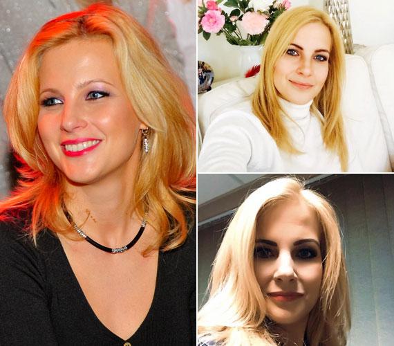 Várkonyi Andrea a 2012-es Megasztár közönségének sorában és a friss Facebook-fotóin.