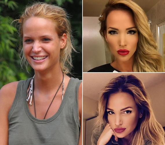Zimány Linda modell smink nélkül is bájos volt az RTL Klub dzsungelshow-jában, a közösségi oldalán már nem is ismertünk rá.