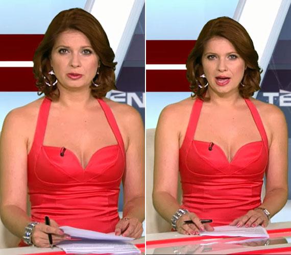 A Tények egyik augusztusi adásában Andor Éva szokatlanul mélyen dekoltált ruhája vonta el a figyelmet a hírekről. Bár nagy hőség volt, ilyen merész ruhához nem szoktak hírműsorban a hazai nézők.