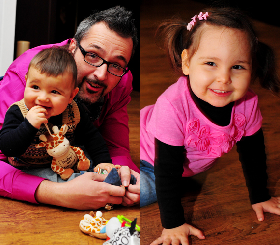 Rákóczi Ferenc kétszeresen boldog apuka. Kislánya, Panna 2008 végén látta meg a napvilágot, kisfia, Soma Benedek pedig 2010. április 19-én.