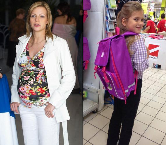 Várkonyi Andreának 2007 áprilisában született meg kislánya, Nóri, aki idén ősszel már iskolába ment.