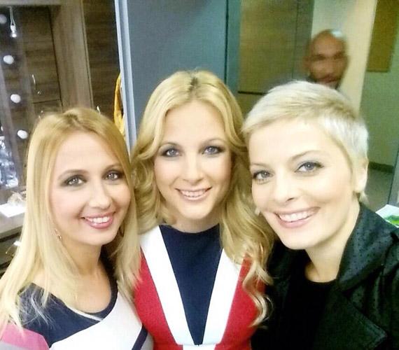 Gombos Edina, Várkonyi Andrea és Tatár Csilla - a TV2 három szőke műsorvezetője. Nincs köztük rivalizálás, barátnők.