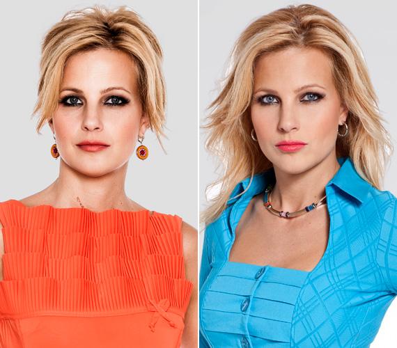2012 nyarán a TV2 műtermi fotósa szokatlanul dögös felvételeket készített a csinos tévésről.