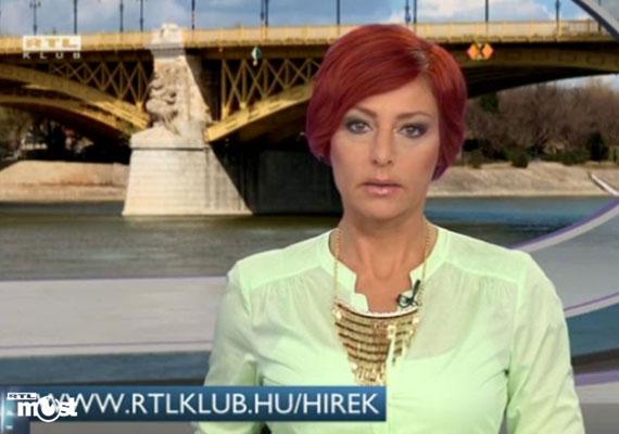 """""""Amit ma nem tudtunk megmutatni, azt holnap"""" - mondta Erős Antónia, miután május végén kétszer is összeomlott az RTL Klub híradója. Szellő István gyorsan átvette tőle a szót, és közölte: Antónia csak viccel."""