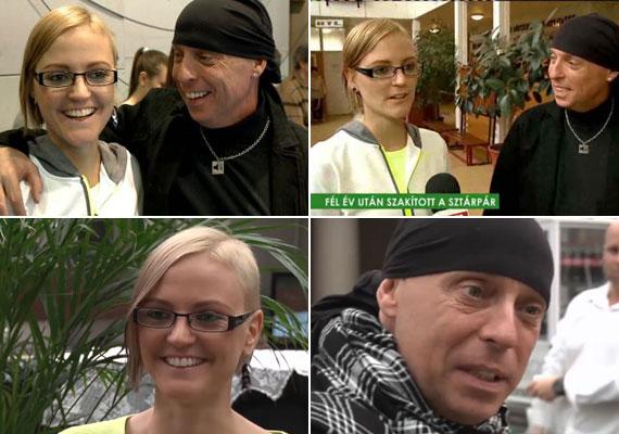 Dj Dominique és Szávay Ági szakítottak, de a műsorvezető azt nyilatkozta, nem a 24 év korkülönbség miatt.