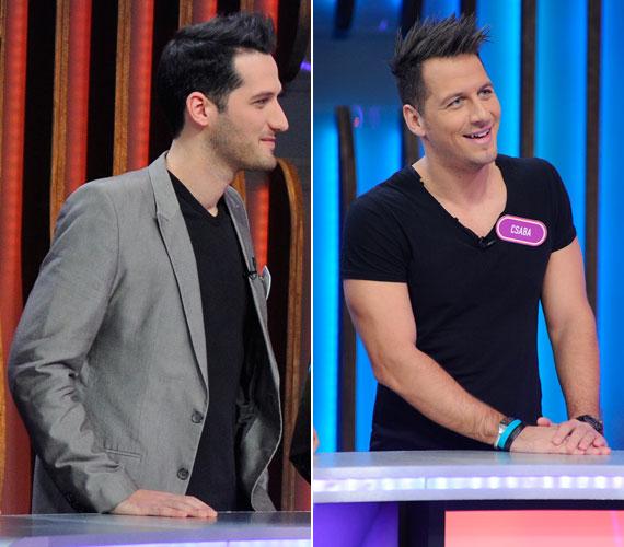 A három testvér közül Balázs és Csaba hasonlítanak leginkább egymásra.