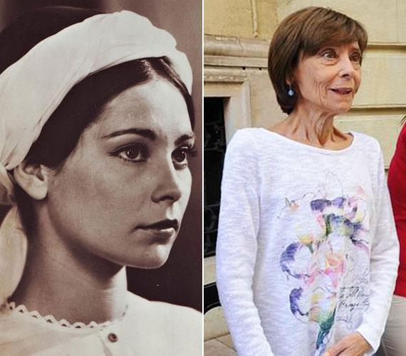 Még le sem diplomázott, amikor az Egri csillagok című filmnek köszönhetően országos ismertségre tett szert. A 70 éves színésznő 1968 óta a Vígszínház tagja.